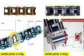 rantai o-ring vs x-ring