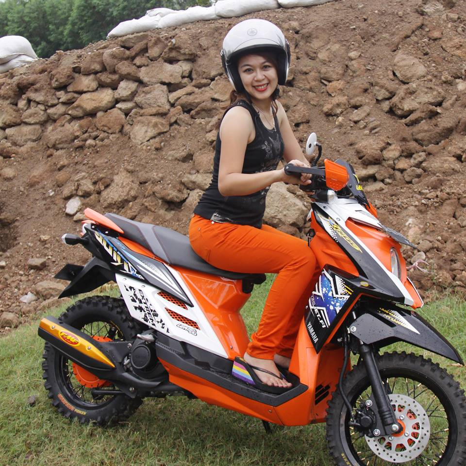 Koleksi Modifikasi Motor Matic Trail Terlengkap Kampong Motor