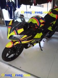 Yamaha R15 rossi edition