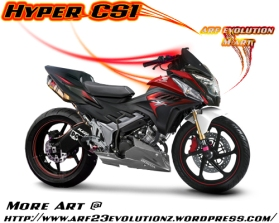 Hyper CS1 by arf evolution M art