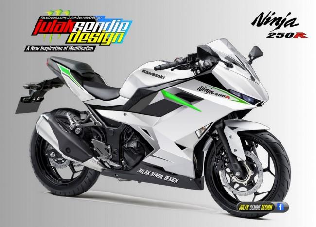Kawasaki Ninja 250R 4 silinder