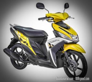 mio 125 yellow