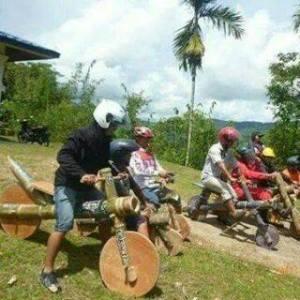 motor bambu