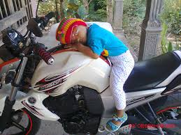 tidur di motor