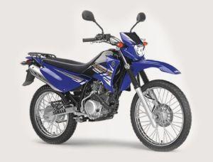 xtz125e blue