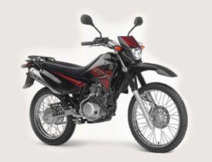 xtz125e red