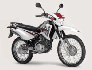 xtz125e white