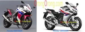 cbr400r vs cbr500r