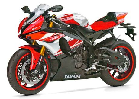 all new yamaha R6 2017