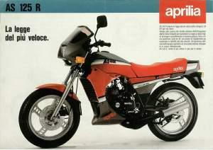 Aprilia AS125R 1985