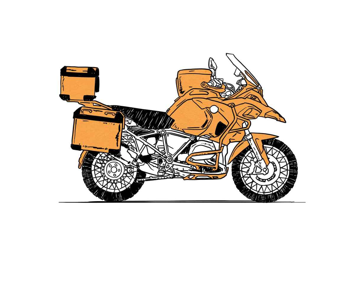 Gambar Kartun Ojek Motor Galeriotto