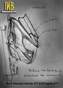 headlamp suzuki satria fu injeksi