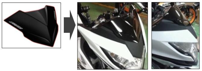 Aksesoris Honda Sonic 150r