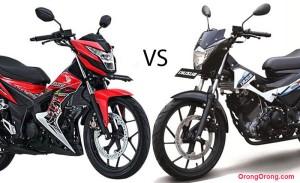 Honda-Sonic-150R-vs-Suzuki-Satria-FU150R