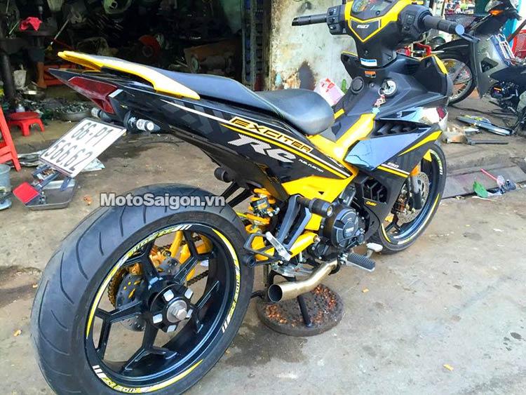 Modifikasi Yamaha MX King Pakai Monoarm, Ganteng Gan