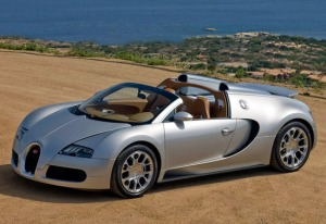 2008 Bugatti Veyron 16.4 Grand Sport; top car design rating and specifications