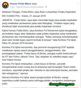 polisi menembak penjahat