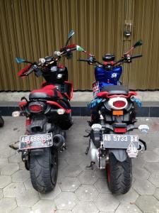 yamaha x-ride modifikasi ban besar 2