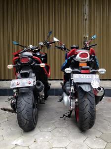 yamaha x-ride modifikasi ban besar