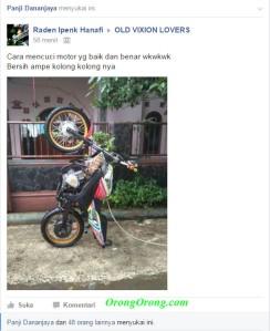 cara cuci motor yang benar