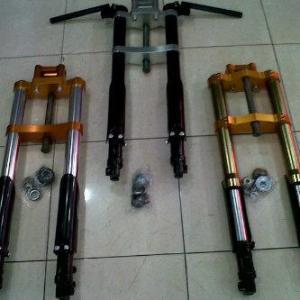 Ini dia Sepeda motor yang sudah pakai shock USD di indonesia