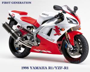 yamaha yzf R1 1998