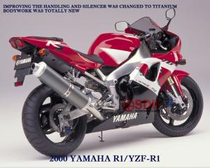 yamaha yzf R1 2000