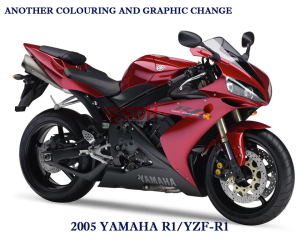 yamaha yzf R1 2005