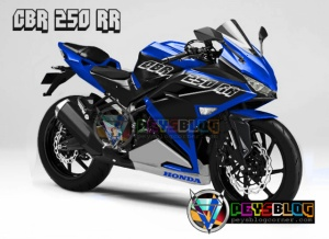 all new honda cbr250rr biru
