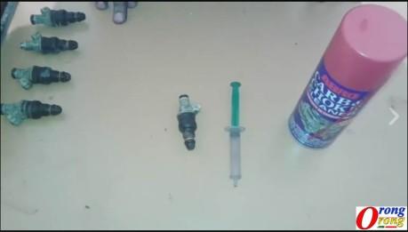 cara membersihkan injektor sendiri