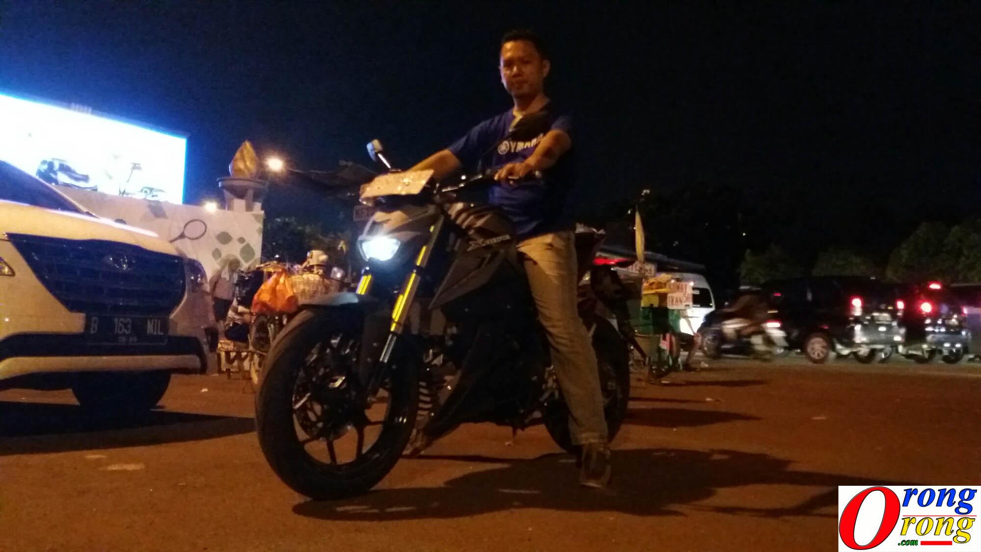 test ride yamaha xabre 2
