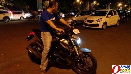 test ride yamaha xabre