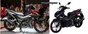 honda supra x150R vs yamaha mx king 150