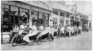 sepeda motor pertama di indonesia
