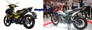 yamaha mx king 150 vs honda supra x150r