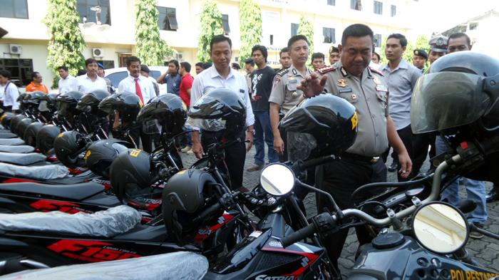 Suzuki Satria Fu Injeksi Jadi Kendaraan Dinas Kepolisian Semarang
