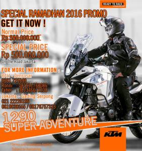 promo KTM
