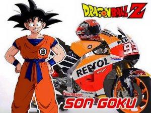 tokoh dragon ball pada motogp 1