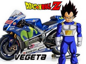 tokoh dragon ball pada motogp 2