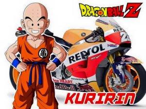 tokoh dragon ball pada motogp 3