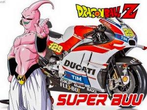 tokoh dragon ball pada motogp 4