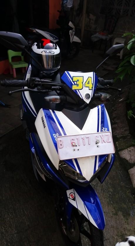 Yamaha Aerox 125 lc livery motogp