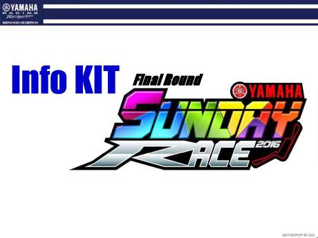 YAMAHA SUNDAY RACE 2016 #3 - Info Kit_Page_01
