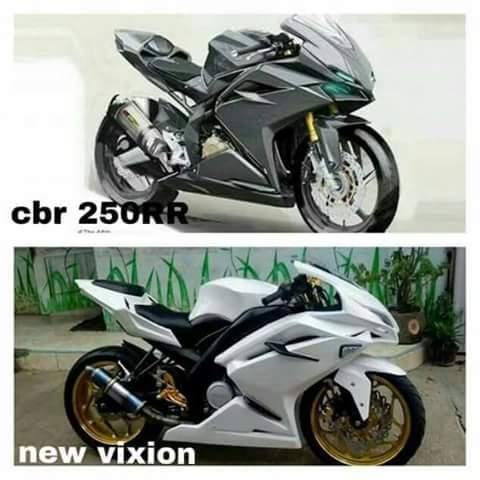 v-ixion modif cbr 250rr