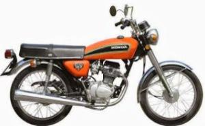 Honda CG 125-K1 (1975)