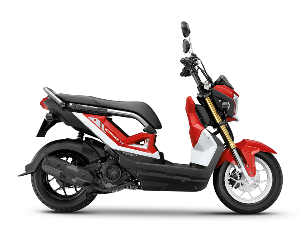 honda zoomer X 2017 energetic red