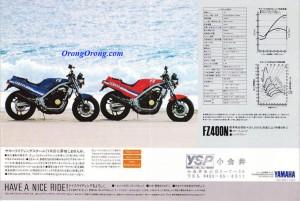 yamaha fz400n 1984 4