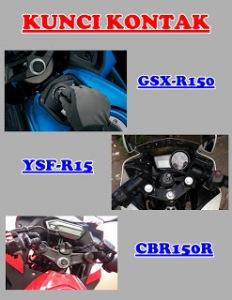 komparasi-kunci-kontak-suzuki-gsx-r150-vs-honda-cbr150r-vs-yamaha-r15