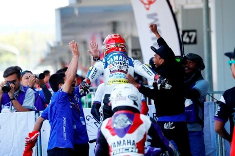 Tradisi Podium Juara Tim YRI, Siap Wujudkan Merah Putih Semakin Di depan